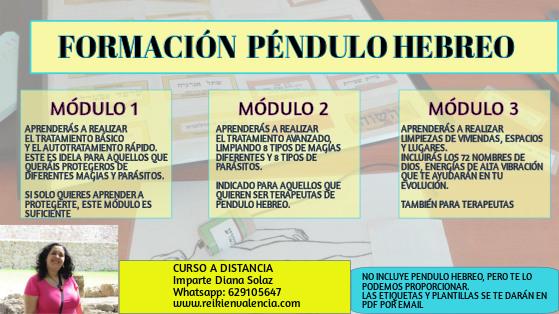 CURSO PENDULO HEBREO ONLINE