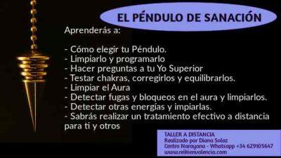 CURSO PENDULO SANACION RADIESTESIA