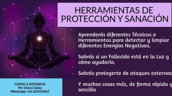 curso proteccion y sanacion online